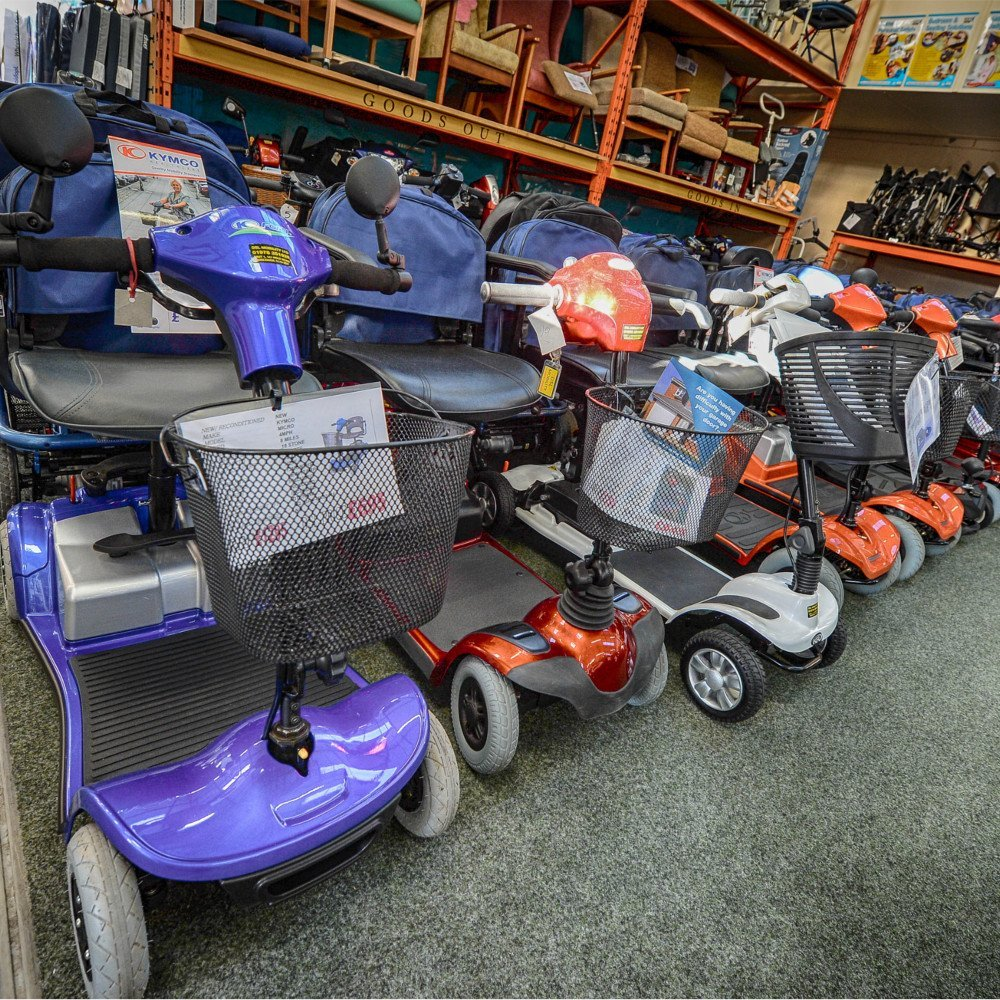 Reconditioned Scooters