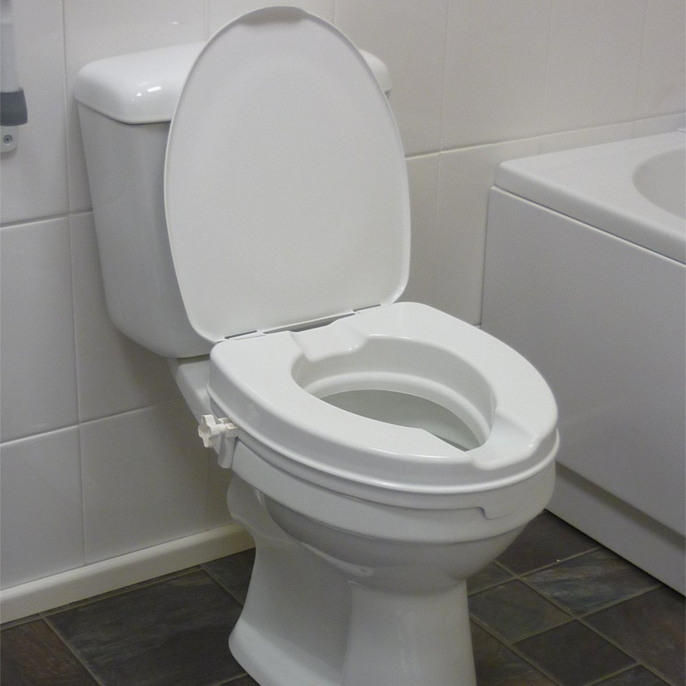 Raised Toilet Seat With Lid Dsl Mobility