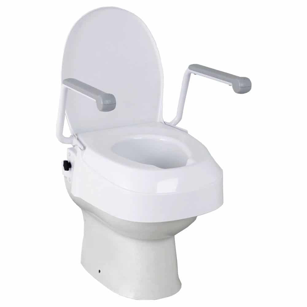 Raised Toilet Seat With Arms Dsl Mobility